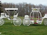 Carriage Limousine Service - Horse Drawn Carriages: Our one of a kind Cinderella Carriage and Victorian/Vis-a-vis Carriage