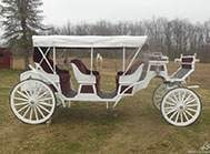 Carriage Limousine Service - Horse Drawn Carriages: Our Stretch Victorian Carriage