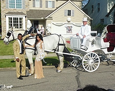 Our Victorian Carriage before prom outside of Cleveland OH