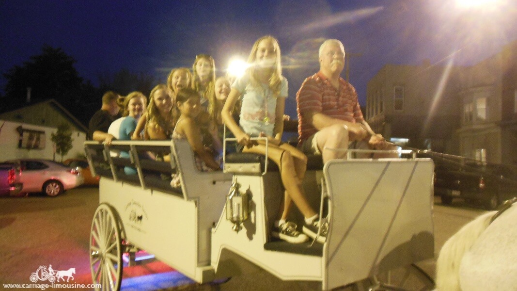 Stopping to pose for a picture while giving rides with our Limousine in Wellsville Ohio