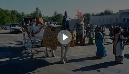 Carriage Limousine Service - Horse Drawn Carriages: Indian Wedding Carriage during a wedding in Brunswick, OH